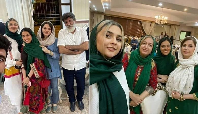 تصویر از تصاویر/ زهره و مائده احضار با لباس مهمانی
