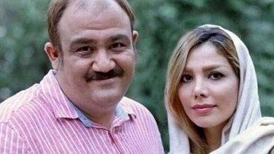 همسر و خود مهران غفوریان