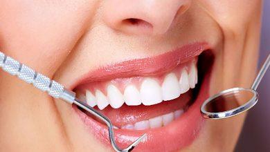 تمیز کردن دندانها