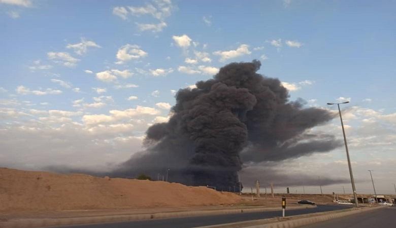 جزئیات آتشسوزی کارخانه الکل شکوهیه قم