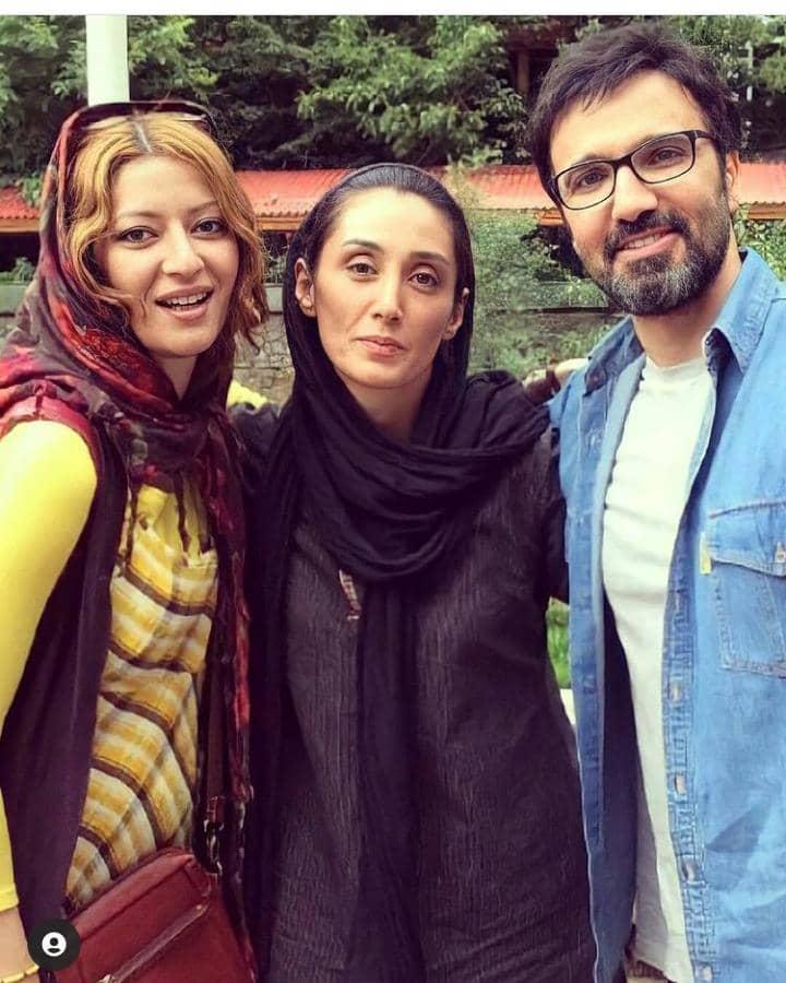 افشای عکس جنجالی هدیه تهرانی با فروتن/ تصویر