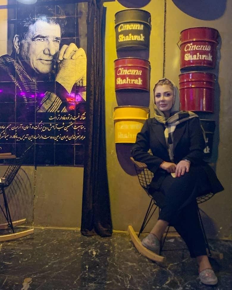 عکس نیوشا ضیغمی با استاد محمدرضا شجریان