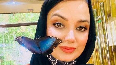 صبا راد عکسی از بازی با پروانه ها منتشر کرد.