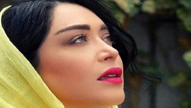 سارا منجزی پور با تیپی عجیب