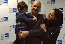 تصویر از عکس مهربانانه ایرج طهماسب با دخترش