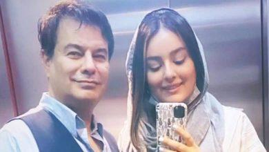 پیمان قاسم خانی و همسرش