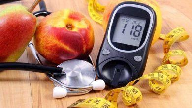 نشانه های دیابت را بر روی پوست صورت