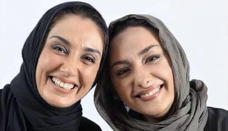 هدیه تهرانی و هانیه توسلی با هم دوست بودند.