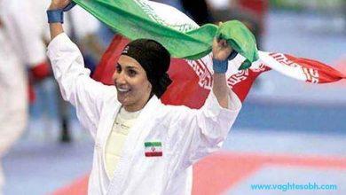 تصویر تلخ اشک های بانوی کاراته کار ایرانی در المپیک / عکس