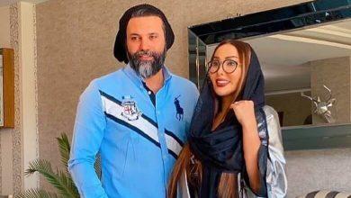 علی نیکبخت و همسرش با رفقا گردهمایی گرفتند.