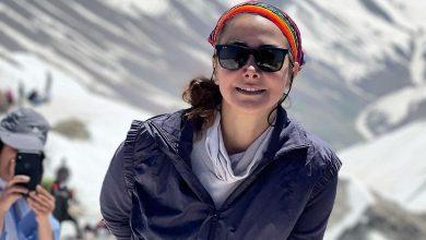 کوهنوردی آنا نعمتی با ساپورت تنگ را ببینید.