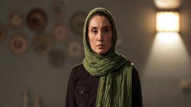 هدیه تهرانی با کروات و تیپ مردانه ظاهر شد.
