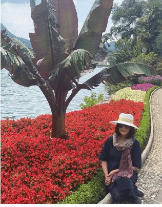 خوشگذرانی مارال فرجاد در سوئیس