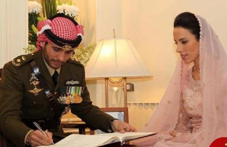 دختر شاهزاده ایرانی با مرد عرب ازدواج کرد.