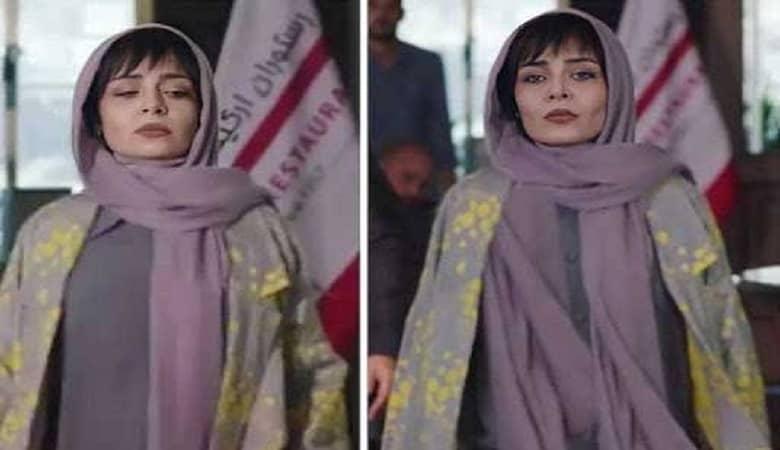 در سکانسی از قسمت دوازدهم سریال پوشش ساره بیات بازیگر نقش پگاه به شکل عجیبی سانسور شد