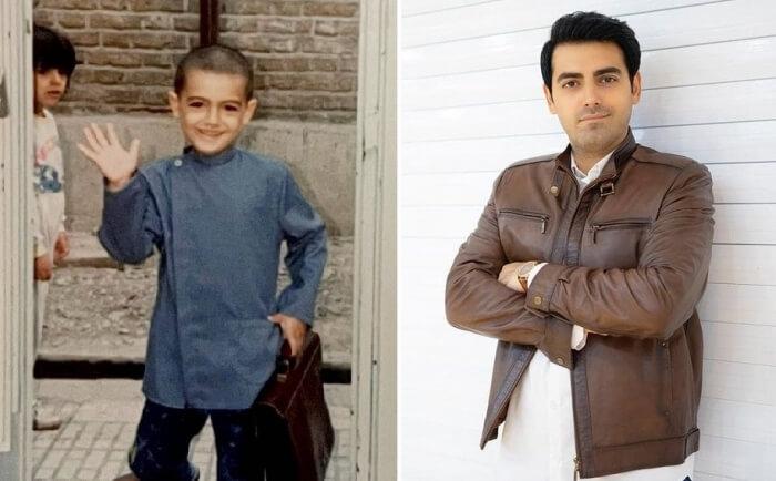 محمدرضا رهبری در دوران مدرسه چه شکلی بود.