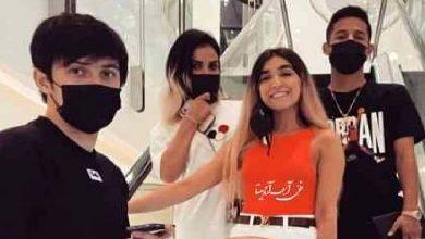 خوشگذرانی سردار آزمون و مهدی قائدی در رستوران لاکچری دبی