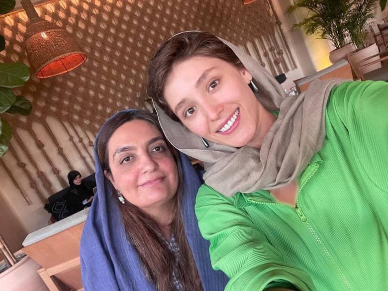 عکس جدید فرشته حسینی را ببینید.