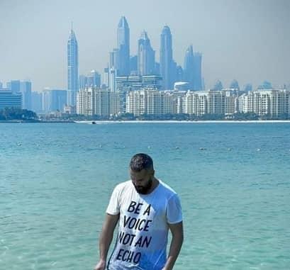 "تیپ ساحلی ""میلاد کی مرام"" در دبی"