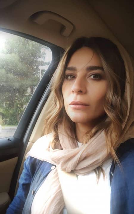 """سلفی یهویی و بدون آرایش """"سحر دولتشاهی"""""""