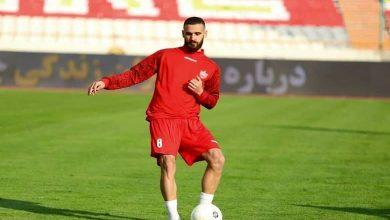 احمد نوراللهی، ستاره پرسپولیسی الاهلی، گل سه امتیازی تیمش را وارد دروازه رقیب کرد