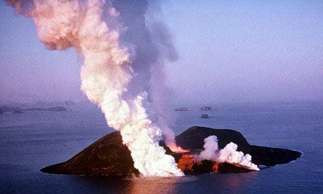 جزیره سورت در ایسلند