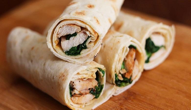 """""""لقمه مرغ و قارچ""""، غذایی خوشمزه و سبک برای شام"""